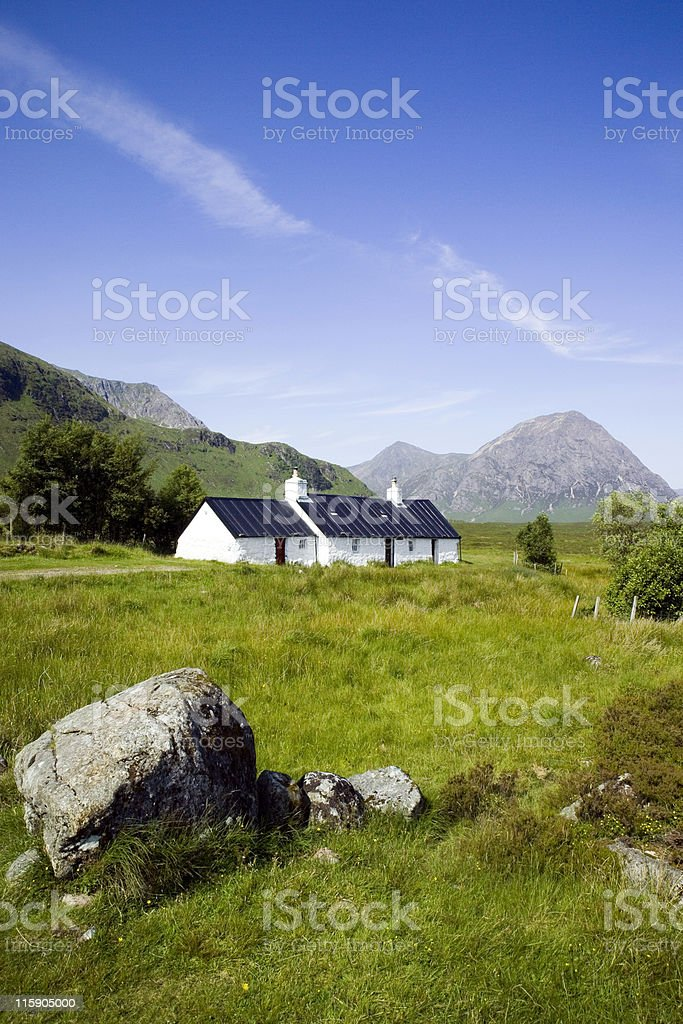 Blackrock cottage on a very clear day royalty-free stock photo