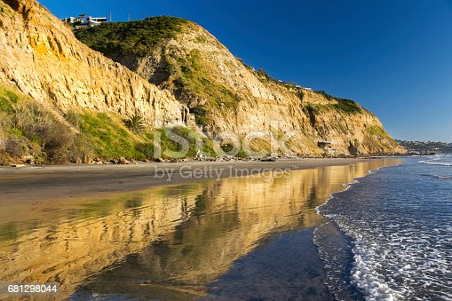 istock Blacks Beach between La Jolla Shores and Del Mar, San Diego California 681298044