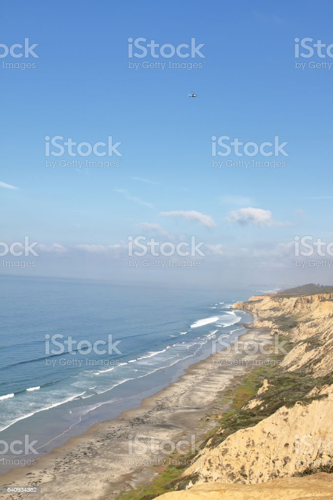 Black's Beach - San Diego - USA stock photo
