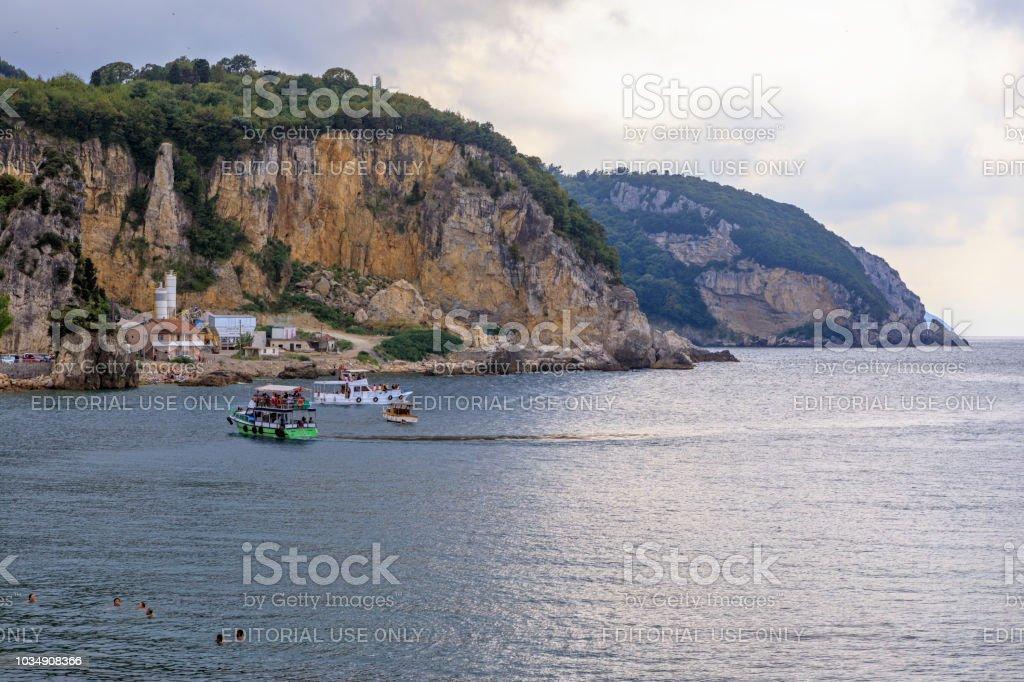 Karadeniz Bartın Amasra stok fotoğrafı