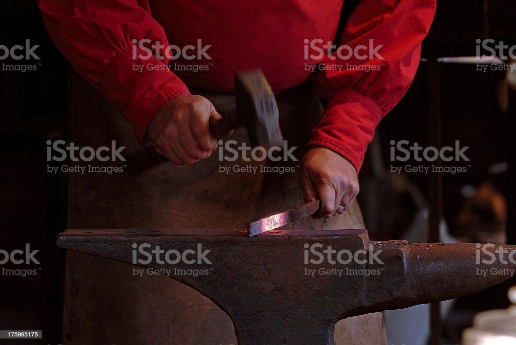 blacksmith 01 stock photo