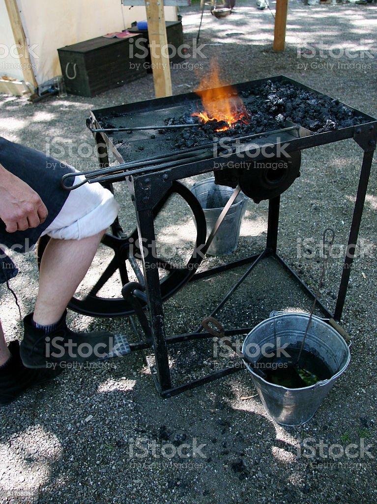 Blacksmith 1 royalty-free stock photo