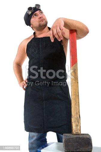 istock Blacksmith 146869702