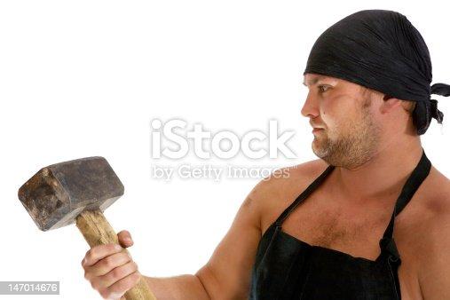 istock Blacksmith 147014676