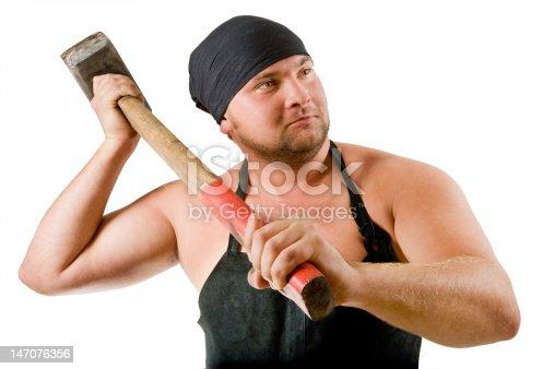 istock blacksmith 147076356
