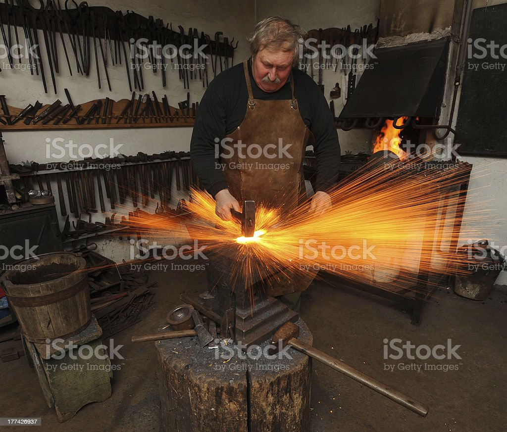 blacksmith stock photo