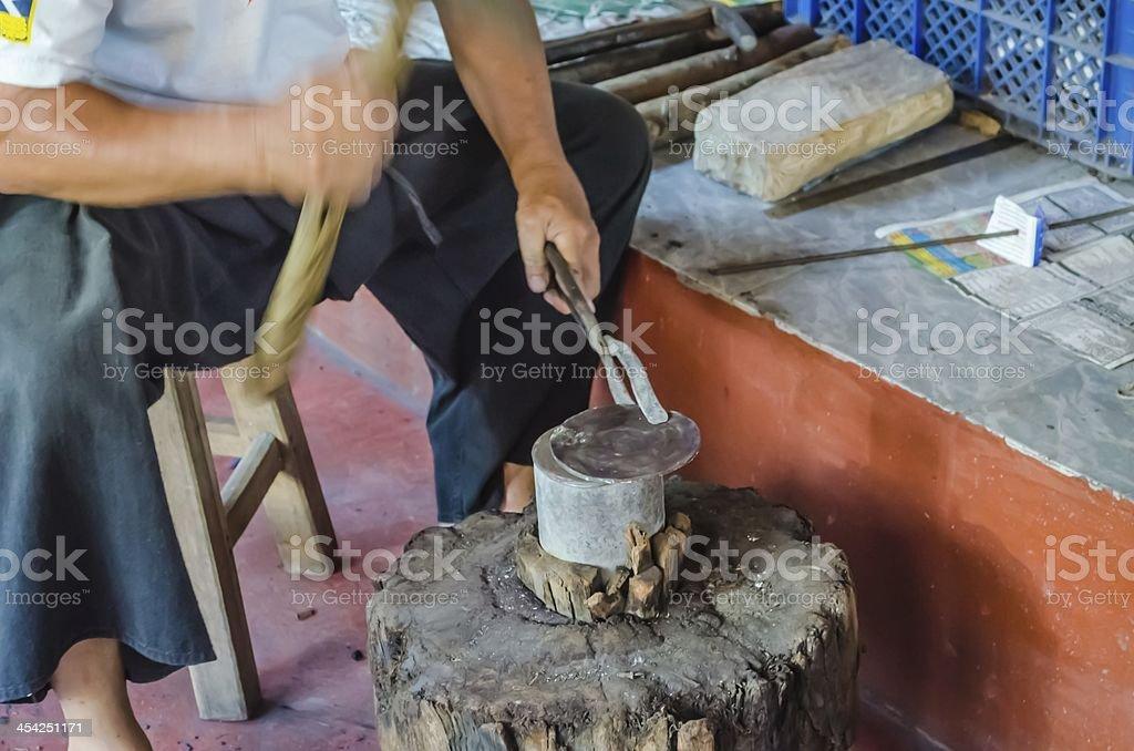 Blacksmith. royalty-free stock photo