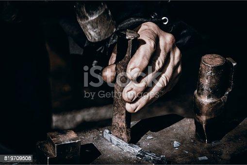 istock Blacksmith 819709508