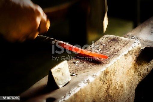 istock Blacksmith 831676070