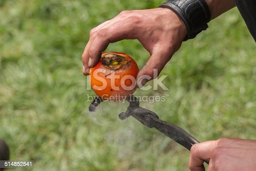 istock Blacksmith working 514852541
