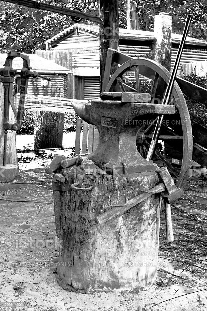 Blacksmith's anvil Lizenzfreies stock-foto