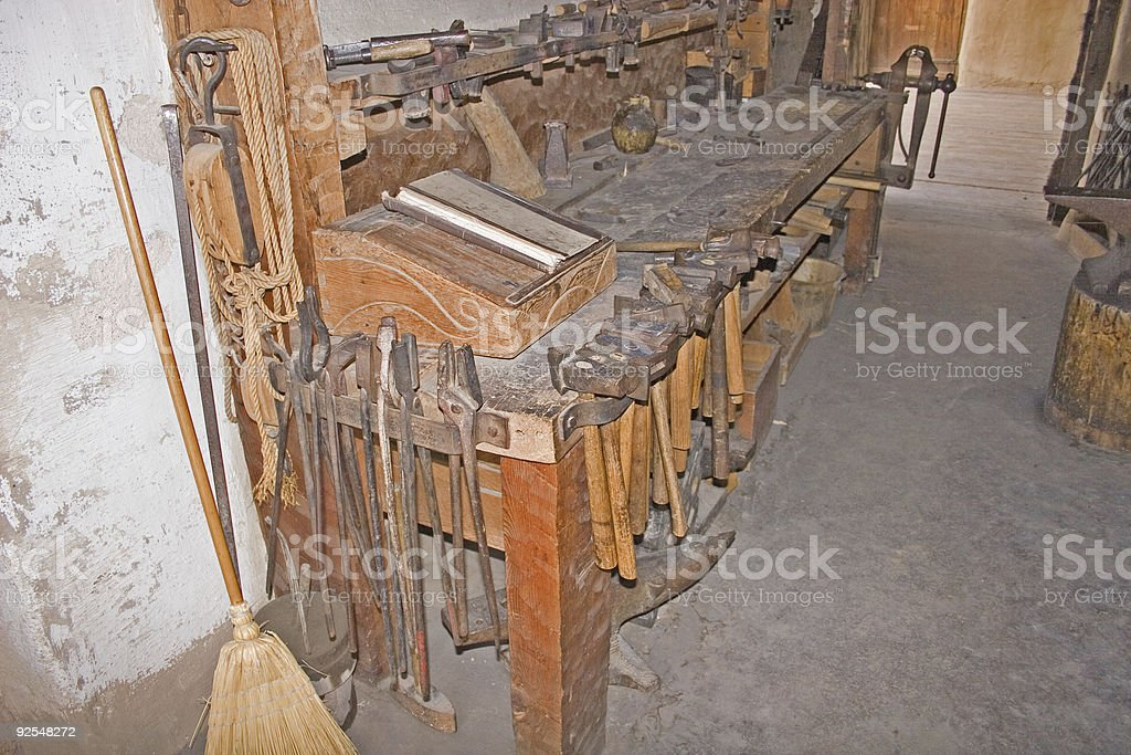 Herrero de banco 1 - foto de stock