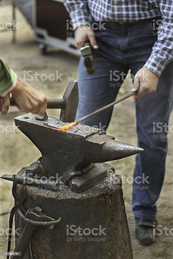 blacksmiths stock photo