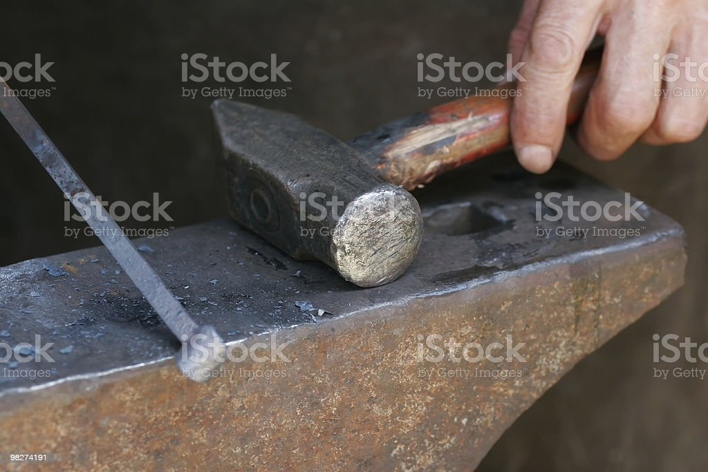 Blacksmith's Tools stock photo