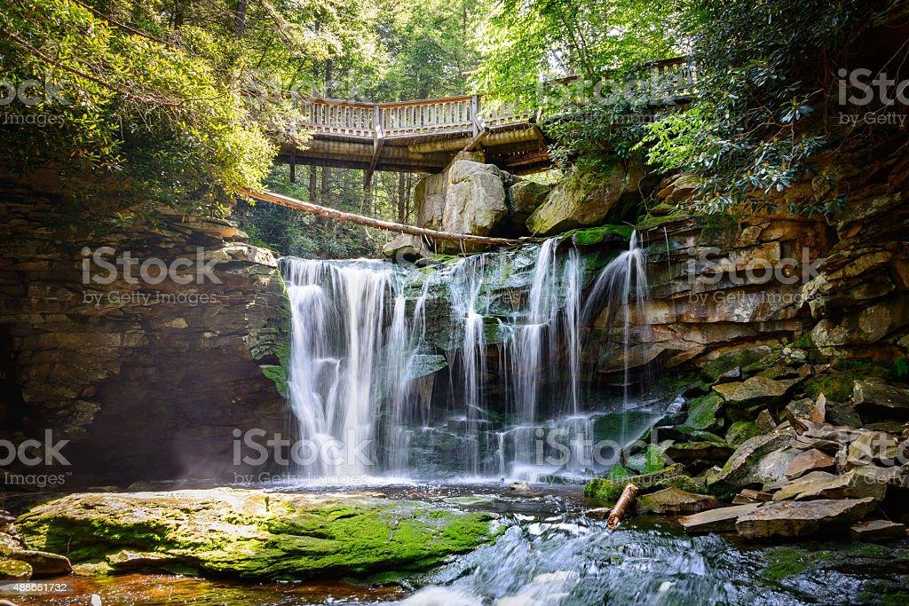 Blackwater Falls State Park stock photo