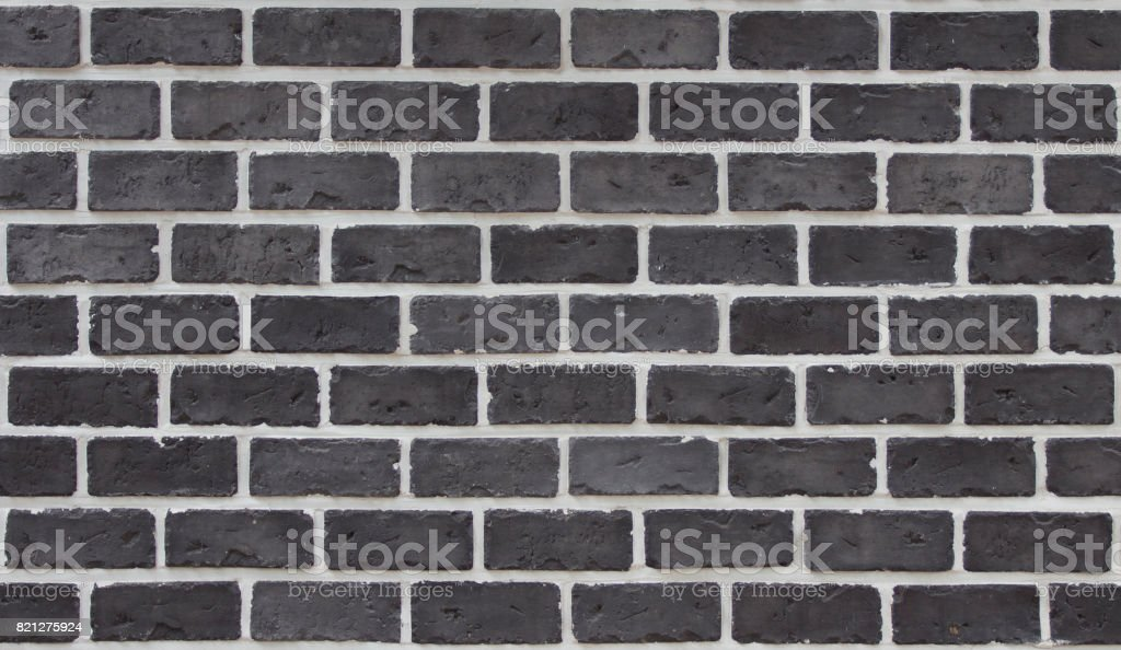 Ziegelsteinmuster & schwarz – Foto