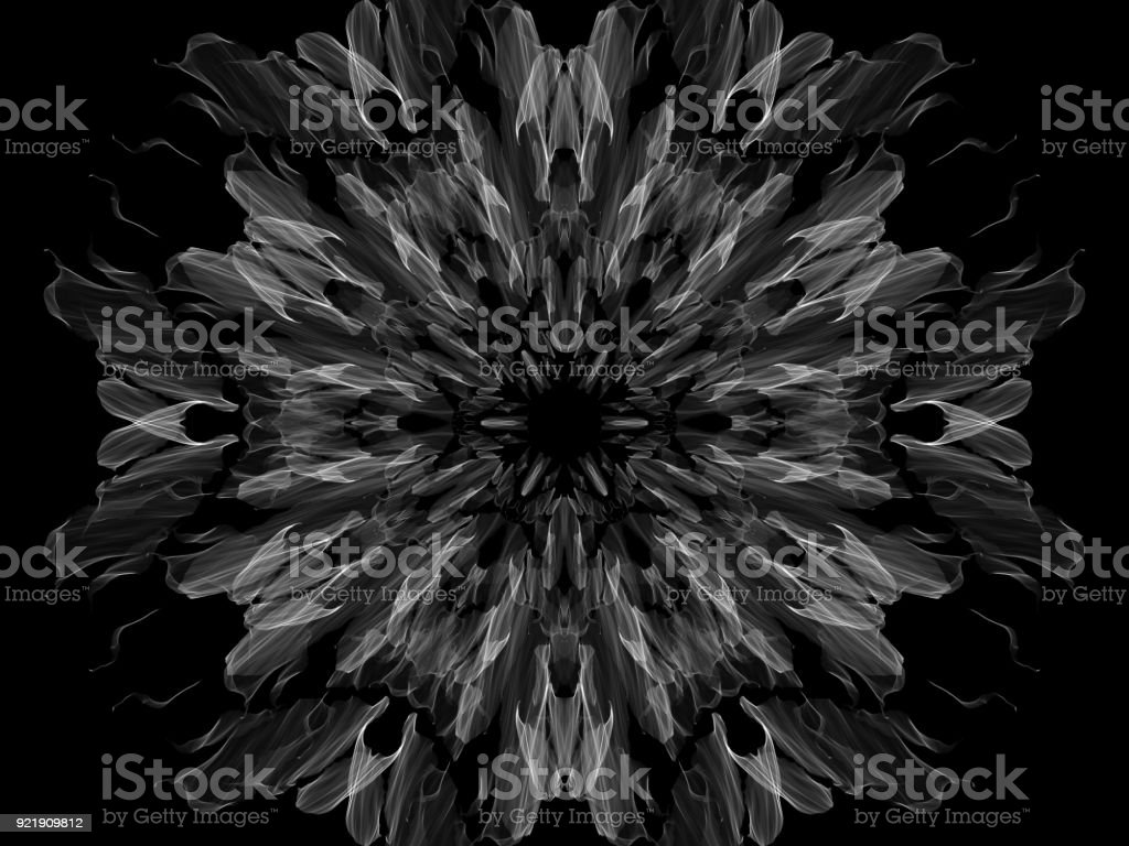 Black&White patterns stock photo