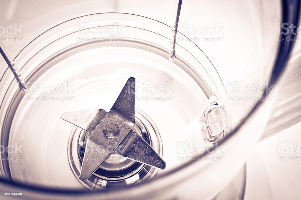 blade of blender stock photo