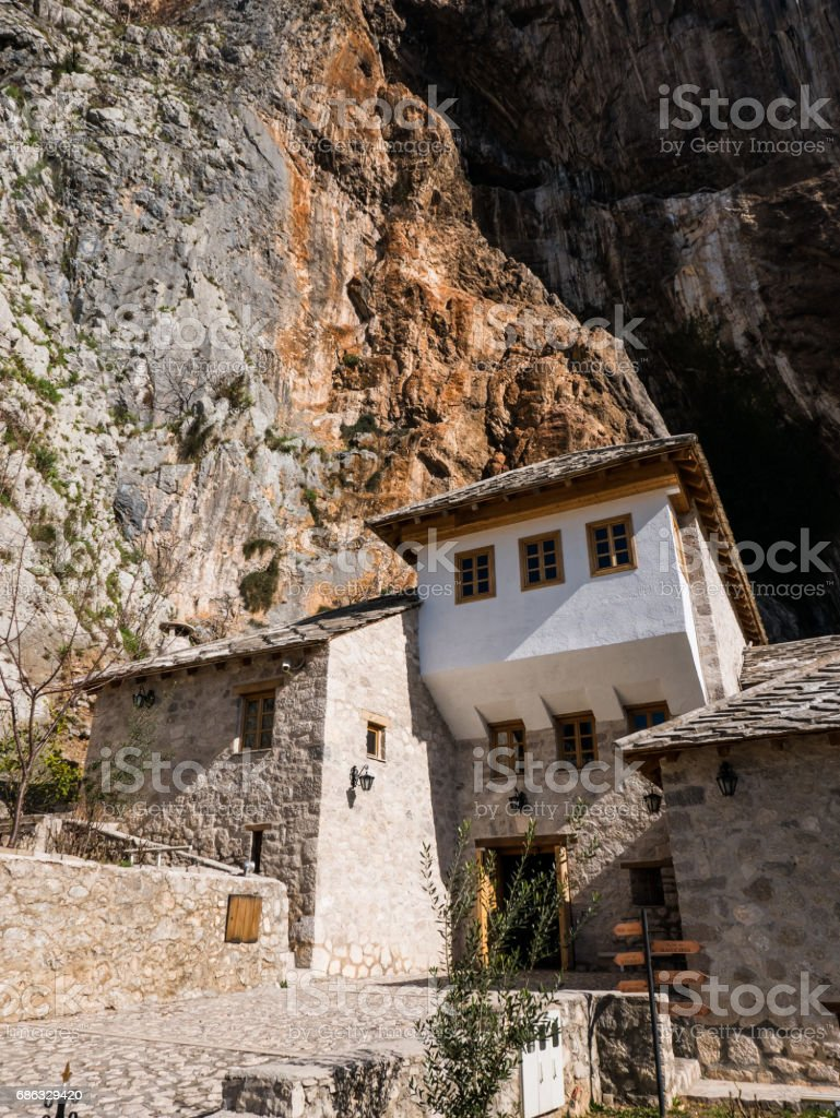 Blagaj, Bosnia and Herzegovina stock photo