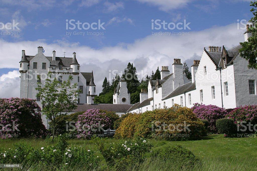 Blair Castle stock photo