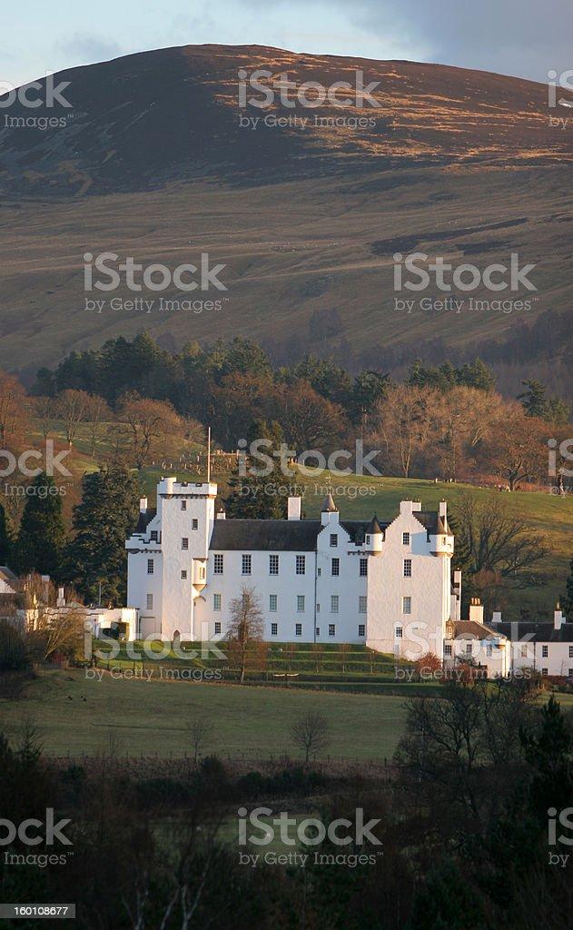 Blair Castle Vertical stock photo