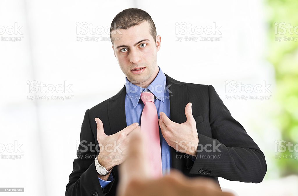 Blame royalty-free stock photo