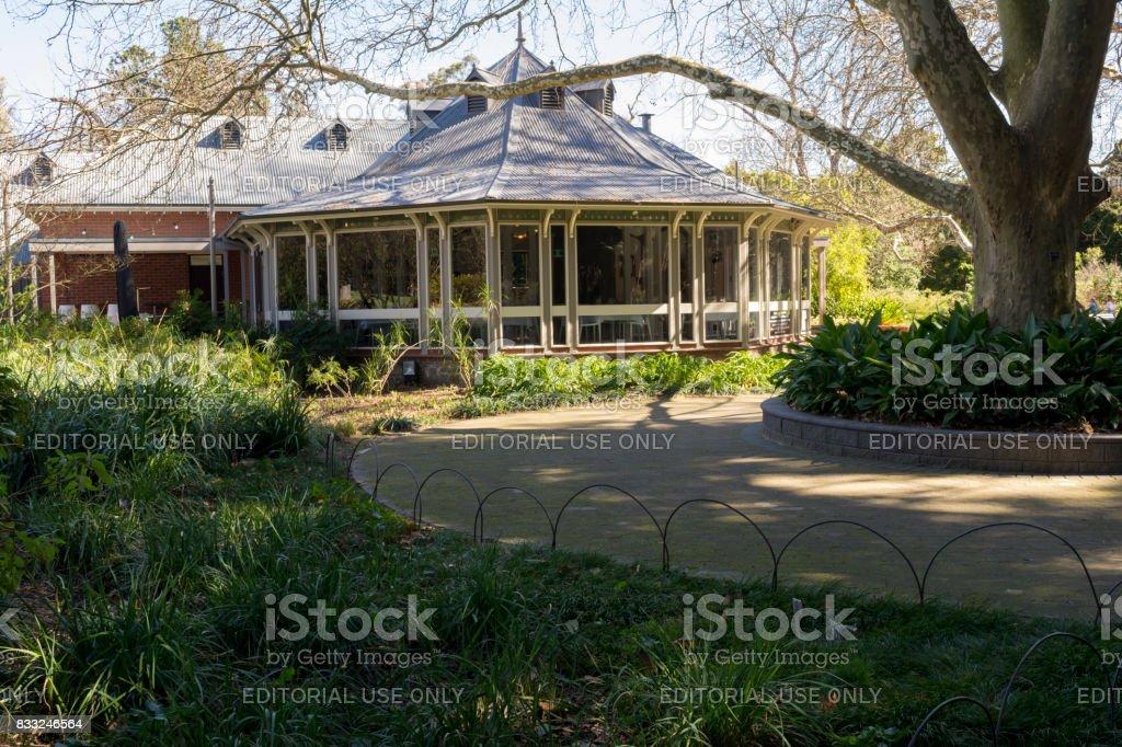 Blanco Botanic Gardens Restaurant, Adelaide Botanic Garden, South Australia  Royalty Free Stock Photo