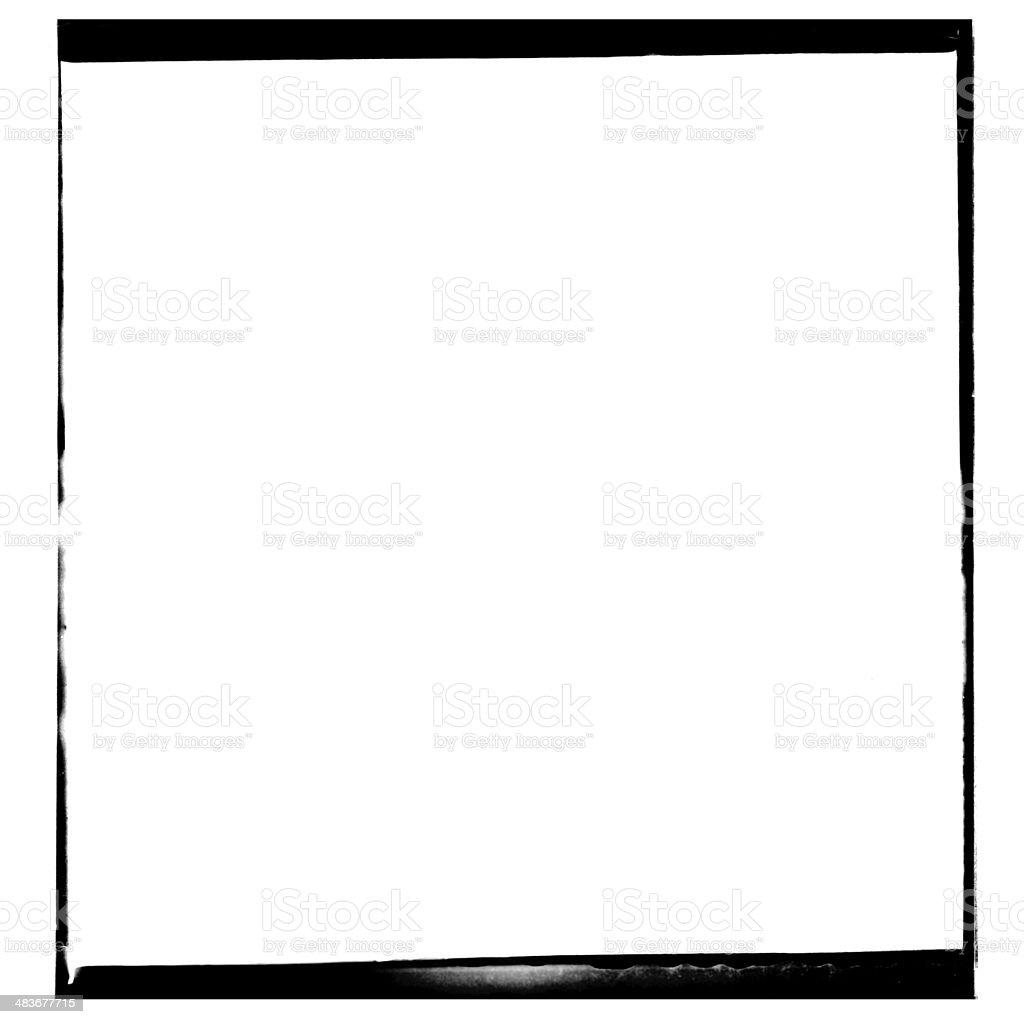 XXXL Blank 120mm Film negative stock photo