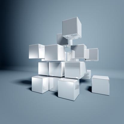 istock Blank 3d Cubes 185254148