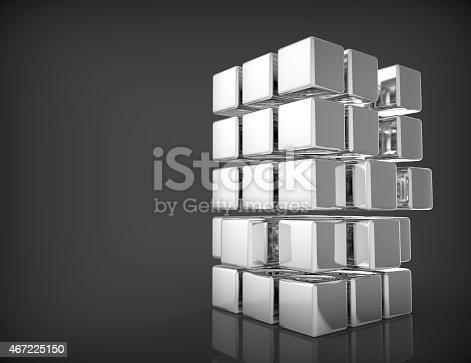 482650499istockphoto Blank 3d Cubes 467225150