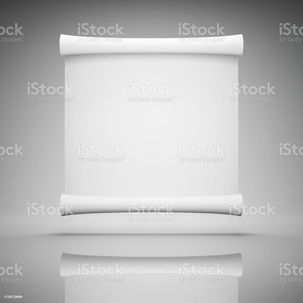 Blank advertisement stock photo