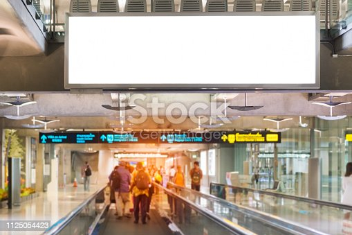 istock blank advertising billboard 1125054423
