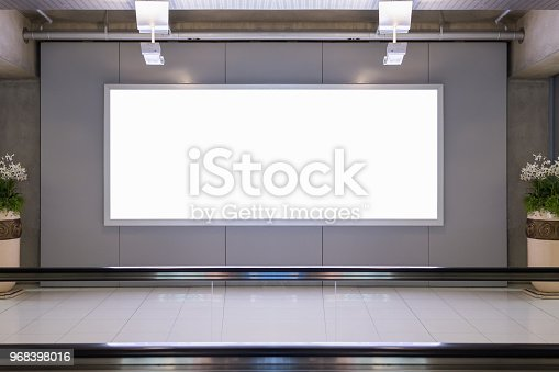 istock blank advertising billboard 968398016