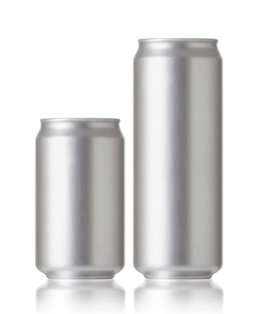 istock Blank aluminum cans, Realistic photo image 159063138