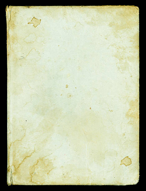 Blank Antique Book Cover (XXL) stock photo