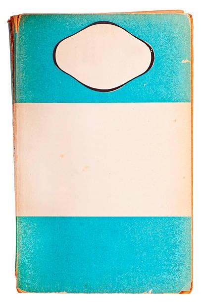 livro em branco antigo livro de capa mole - brochura - fotografias e filmes do acervo