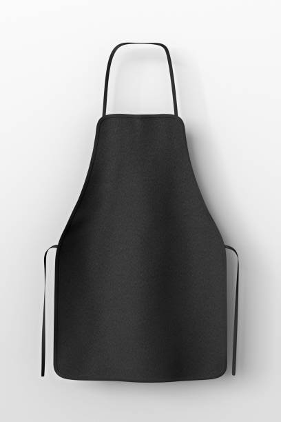 blank apron isolated - apron stock pictures, royalty-free photos & images