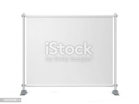 istock Blank backdrop banner 1065909614