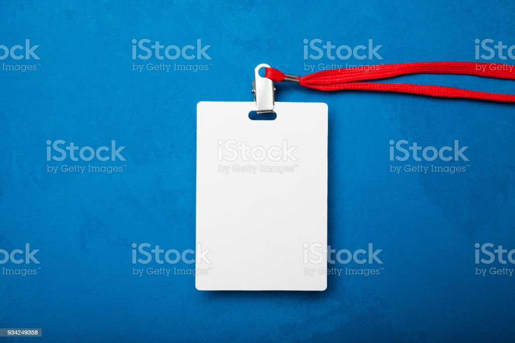 blank badge identity card template name tag blank id card template