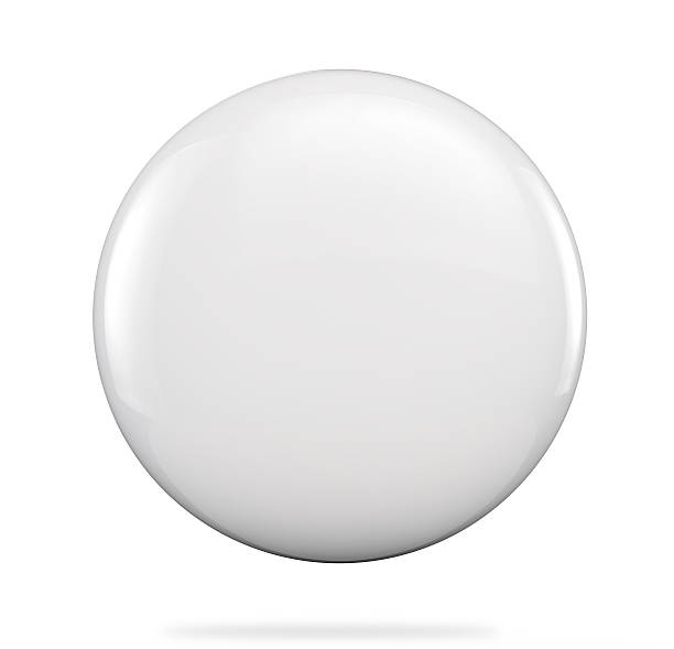 badge blanc - Photo
