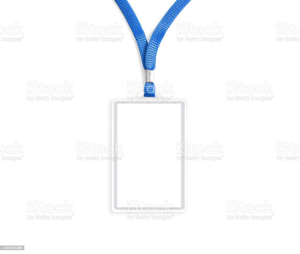 maqueta de bagde blanco aislado sobre blanco - foto de stock