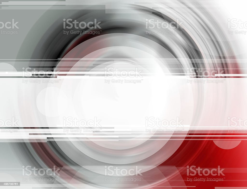 Blank banner on spectral colors stock photo