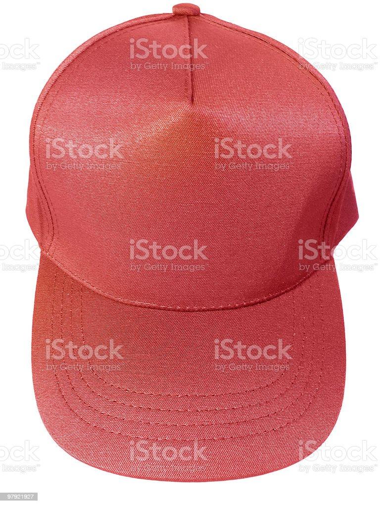 Blank Baseball Cap royalty-free stock photo