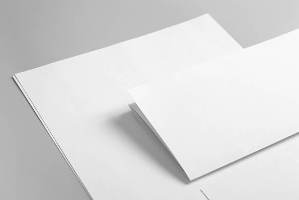 Royalty free letterhead pictures images and stock photos istock letterhead flat and folded business card stock photo colourmoves