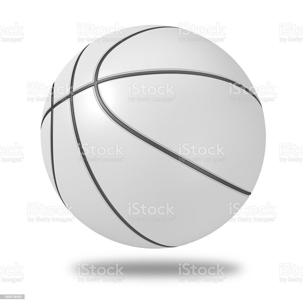 blank Basketball stock photo