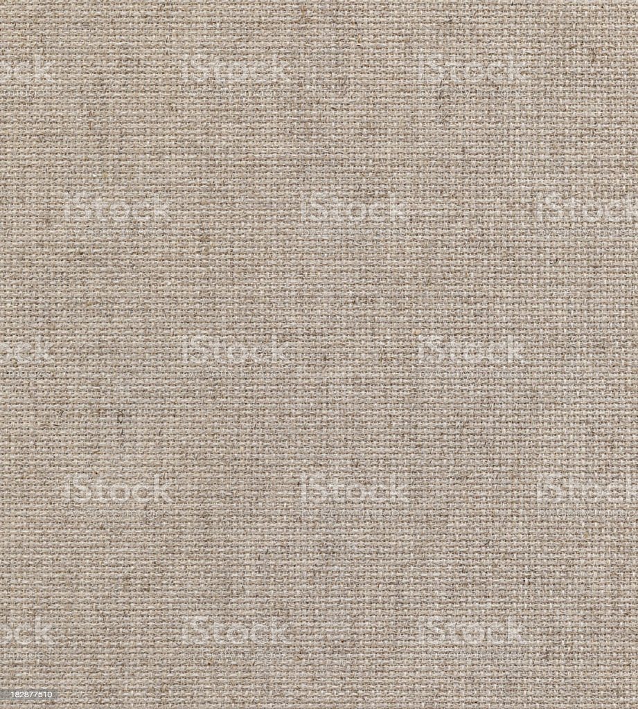 blank beige canvas texture royalty-free stock photo