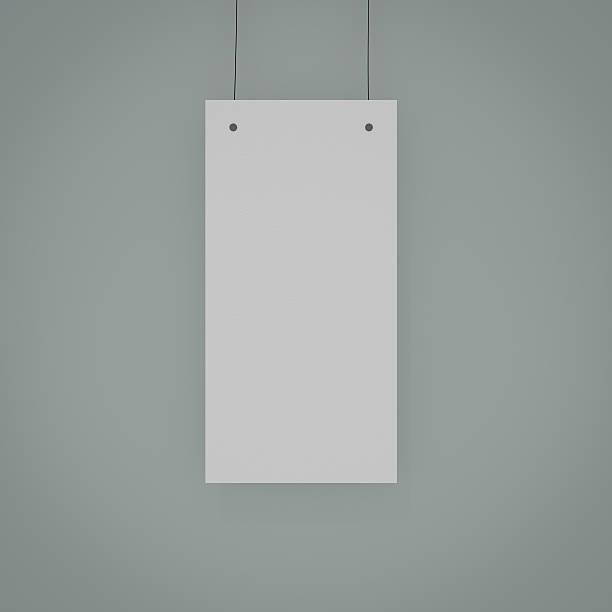 blank bill board stock photo