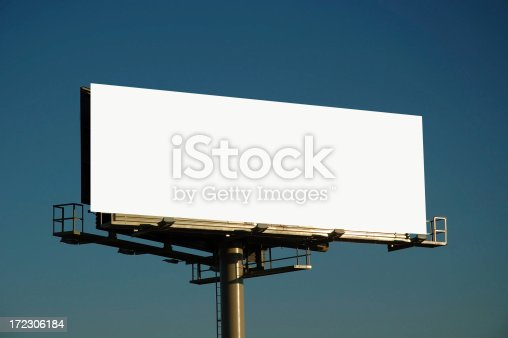 blank bill board ready for your text