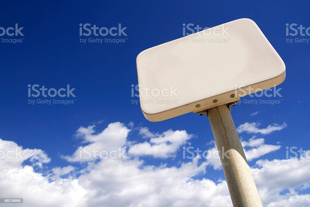 Blank billboard, just add your text royalty-free stock photo