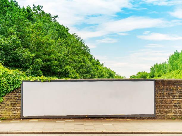 Blanke Billboard – Foto